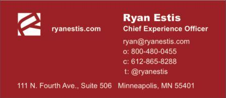 Ryan Estis: Chief Experience Officer