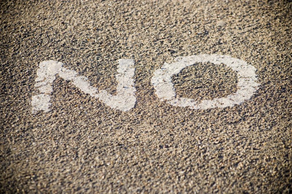 When saying no to a customer makes sense