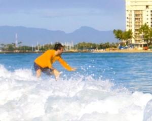 Ryan Estis - Learning Something New - Surfing